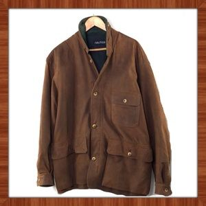 Nautica Men's Suede Upland Sporting Coat.